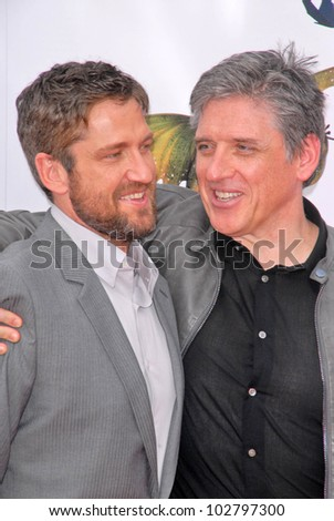 "Gerard Butler and Craig Ferguson at the Los Angeles Premiere of ""How To Train Your Dragon,"" Gibson Amphitheater, Universal City, CA. 03-21-10 - stock photo"