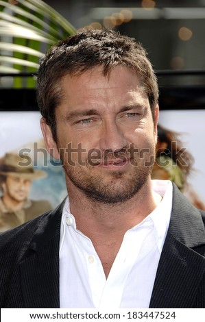 Gerard Butler at Premiere of NIM'S ISLAND, Grauman's Chinese Theatre, Los Angeles, CA, March 30, 2008