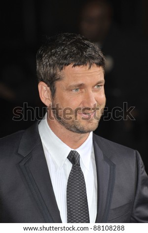 "Gerard Butler at the Los Angeles premiere of his new movie ""Law Abiding Citizen"" at Grauman's Chinese Theatre, Hollywood. October 6, 2009  Los Angeles, CA Picture: Paul Smith / Featureflash"