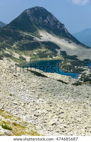 Gergiytsa peak and Gergiyski lakes,  Pirin Mountain, Bulgaria