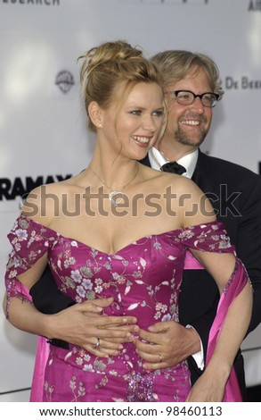 German actress VERONICA FERRES at Le Moulin de Mougins restaurant for amfAR's Cinema Against AIDS 2003 Gala.  22MAY2003