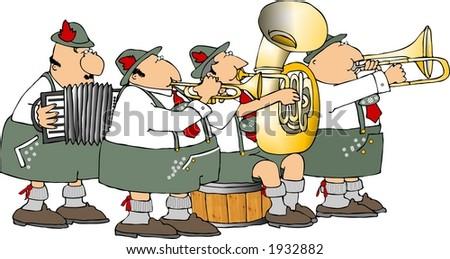 German band - stock photo