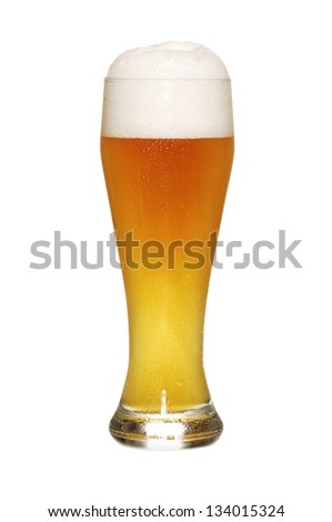 German beer - helles Hefeweizen