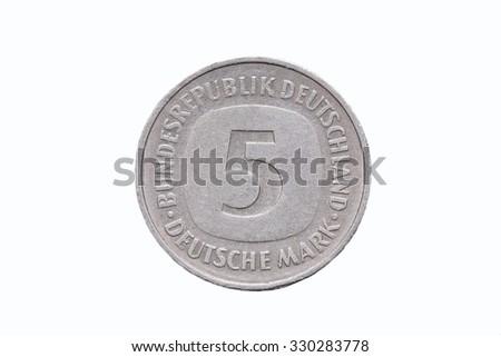 German Mark - stock photo