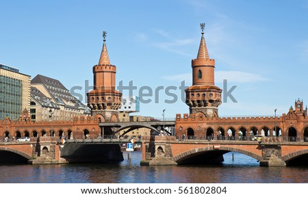 Germany, Berlin, Oberbaum Bridge