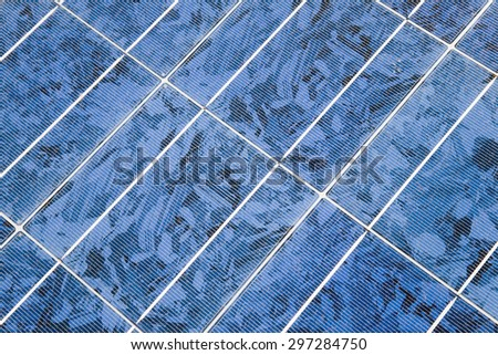 Germany,Close up of solar panel - stock photo