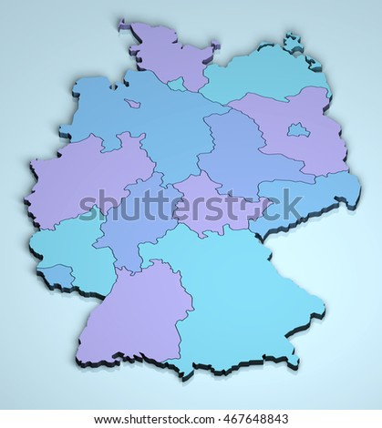 Germany 3D