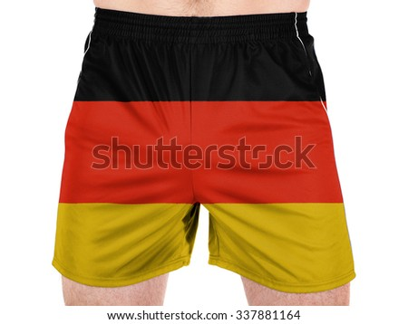 Germany. German flag  - stock photo