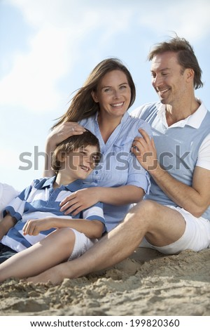 Germany, Lower Bavaria, Family playing together, smiling