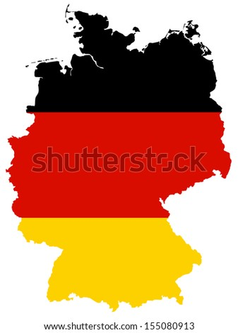 Germany - Map flag