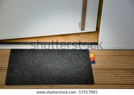 germany mat - stock photo