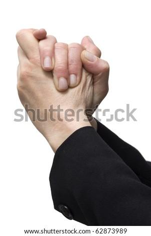 gesture handshake - stock photo