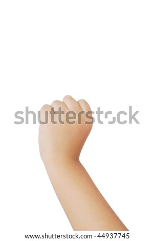 Gestures setting, isolated, isolated on a white background