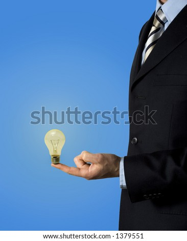 Get the right idea for your business! - stock photo