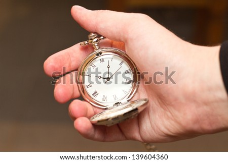 get the watch - stock photo