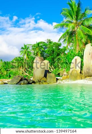 Getaway Beach Summer - stock photo