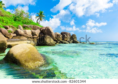 Getaway Ocean Beauty - stock photo