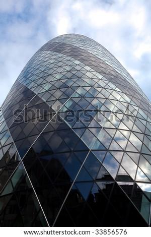 Gherkin, London - stock photo