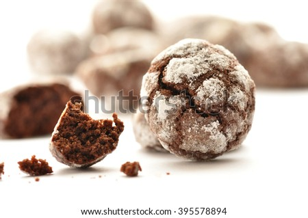 Ghoriba cookies - stock photo