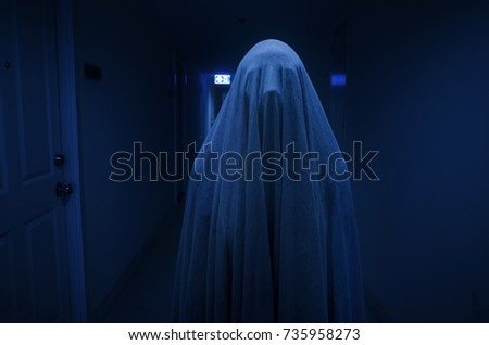 ghost concept for halloween
