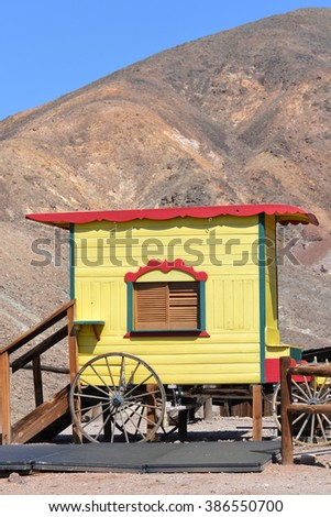 Ghost town, Calico, California - stock photo
