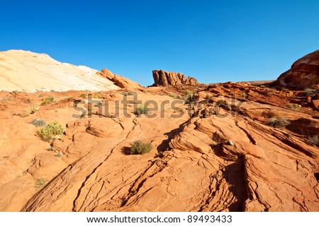 Gibraltar Rock valley of fire state park