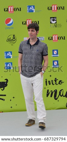 Giffoni Valle Piana, Sa, Italy - July 15, 2017 : Ivan Silvestrini at Giffoni Film Festival 2017 - on July 15, 2017 in Giffoni Valle Piana, Italy