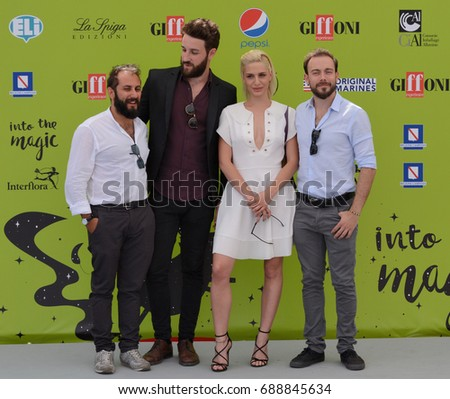 Giffoni Valle Piana, Sa, Italy - July 17, 2017 : The Jackal at Giffoni Film Festival 2017 - on July 17, 2017 in Giffoni Valle Piana, Italy