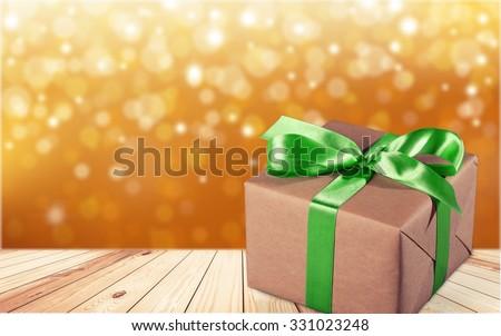 Gift. - stock photo