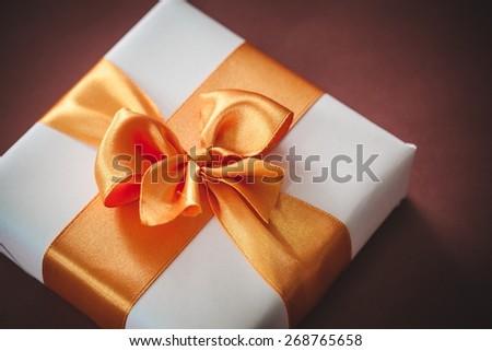 Gift, Birthday, Wedding. - stock photo
