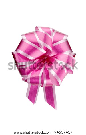 Gift bow a great image for your job.
