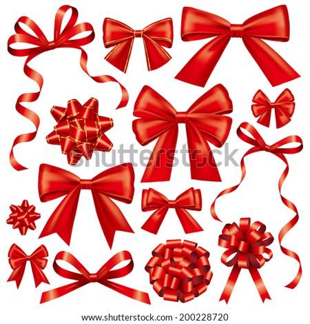 Gift bows - stock photo