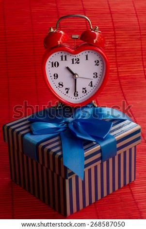 gift box and Service