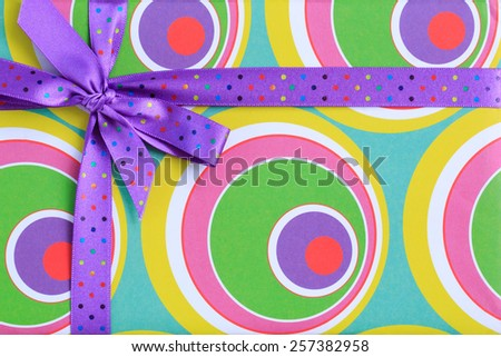 Gift box isolated - stock photo