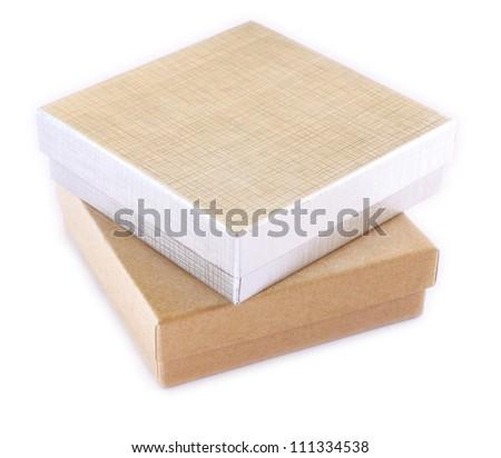 gift box on isolated background - stock photo