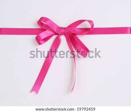 gift box with red ribbon isolated on white