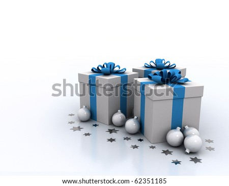 Gift boxes and decoration