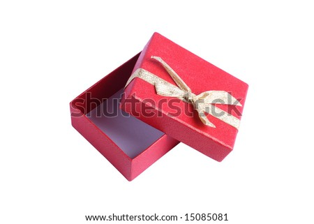 Gift boxes on a white background