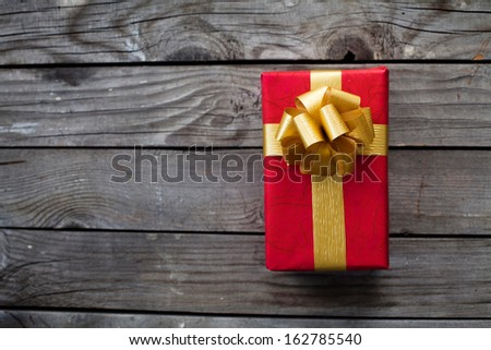 gift for holiday - stock photo