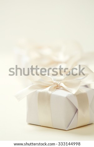gift for Valentine day - stock photo