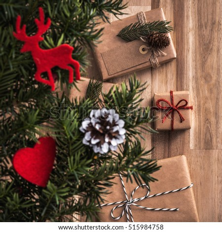Presents Under Christmas Tree Stock Images, Royalty-Free Images ...