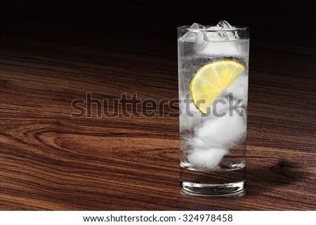 Gin tonic. - stock photo