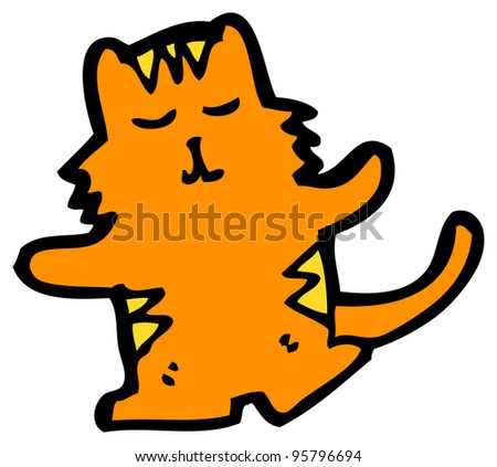 ginger cat cartoon