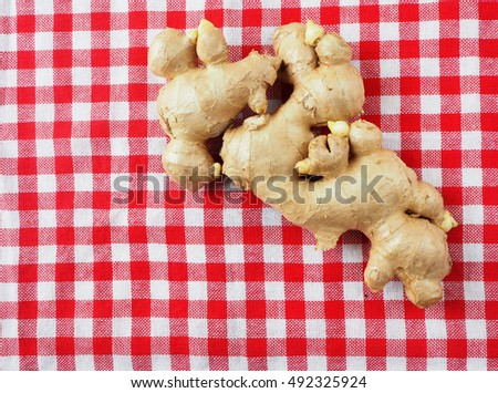 Ginger is a kind of Thai herb.