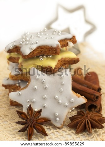 gingerbread as stars