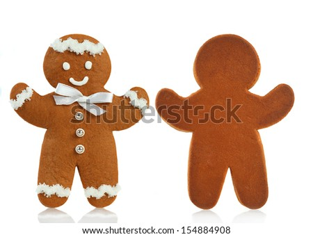 Gingerbread man  - stock photo
