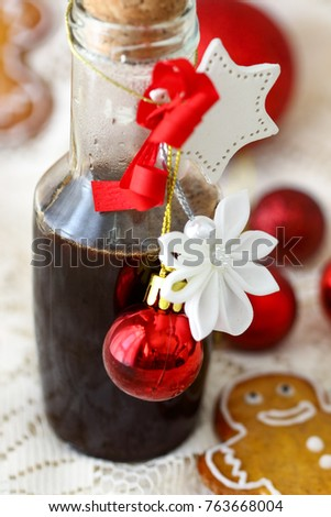 Gingerbread Syrup for Holidays