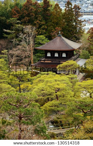 Ginkakuji, Kyoto, Japan - stock photo