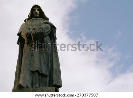 Giordano Bruno in Rome, the philosopher and the inquisition