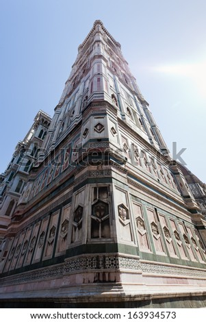 Giotto's bell tower, Florence, Tuscany, Italy